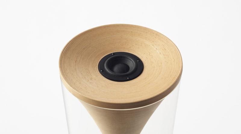 ξύλινο ηχείο