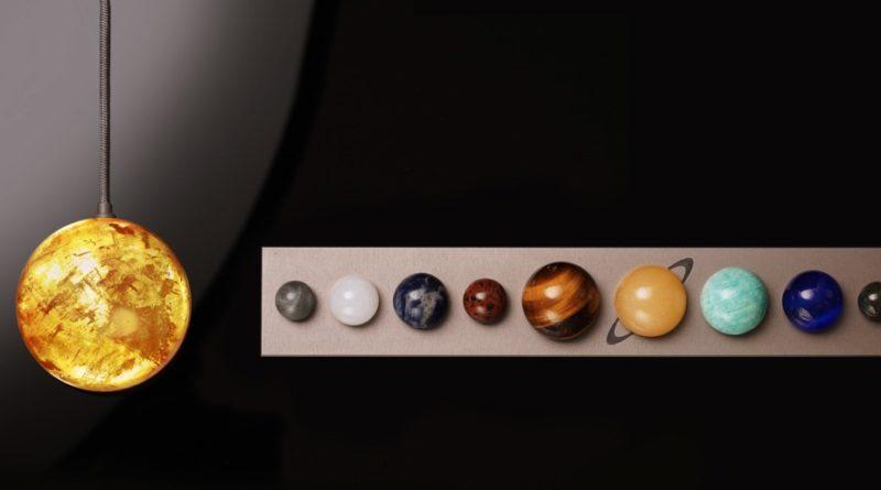 σετ γραφείου με θέμα το ηλιακό σύστημα