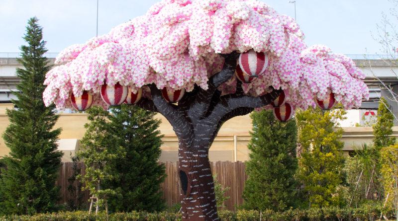 δέντρο φτιαγμένο με lego