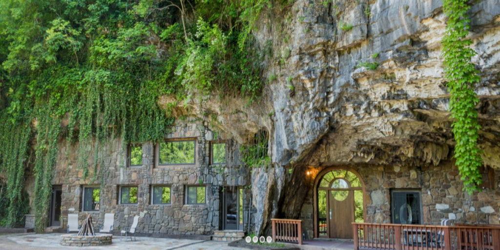 ξενοδοχείο μέσα σε σπήλαιο